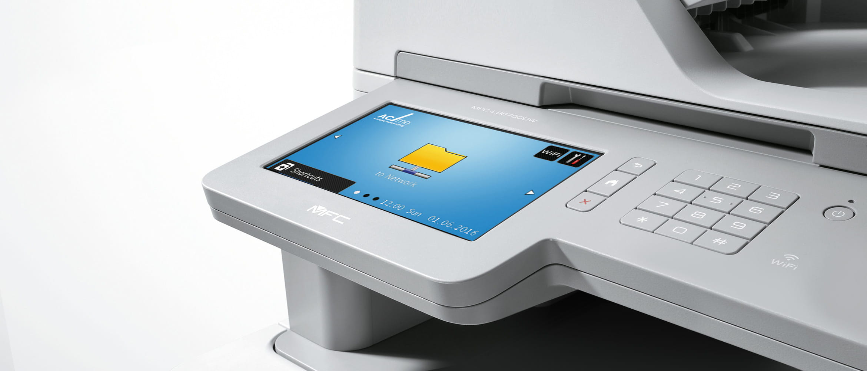Brother Farblaserdrucekr mit großem, individualisiertem Touch-Display