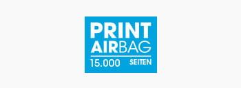 PRINT AirBag Logo, Druckvolumen 15.000 Seiten
