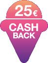 25 € Cashback