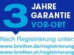 3-Jahre-Garantie-Logo, Vor-Ort nach Registrierung