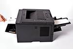 HL-5440D ist dank Multifunktionszufuhr flexibel