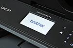 DCP-L5500DN mit Touchscreen-Farbdisplay