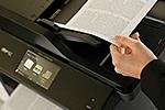 MFC-L5750DW ermöglicht beidseitiges drucken, faxen, kopieren und scannen