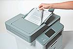 DCP-L6600DW ermöglicht beidseitiges Drucken, Kopieren und Scannen