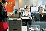HL-L6250DN bietet professionelles Papiermanagement