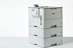 HL-L6400DWTT mit bis zu 3 Papierkassetten
