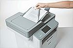 MFC-L6800DW ermöglicht beidseitiges Drucken, Kopieren, Scannen und Faxen