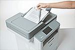 MFC-L6900DW ermöglicht beidseitiges Drucken, Kopieren, Scannen und Faxen