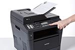 MFC-8510DN ermöglicht professionelles Scannen, Kopieren und Faxen