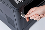 MFC-8510DN mit USB-Host