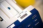 PT-3600 verfügt über gängige Barcodes