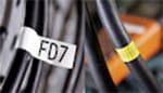 PT-E500VP ermöglicht das Beschriften von Kabeln