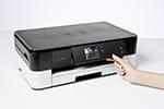 DCP-J4120DW mit Touchscreen-Farbdisplay