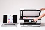 MFC-J6520DW ermöglicht Drucken, Scannen, Kopieren und Faxen bis zum Format DINA3