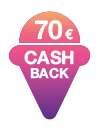 40 € Cashback