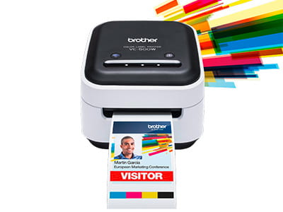 Farb-Etikettendrucker VC-500W