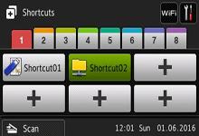 Touchscreen Shortcuts