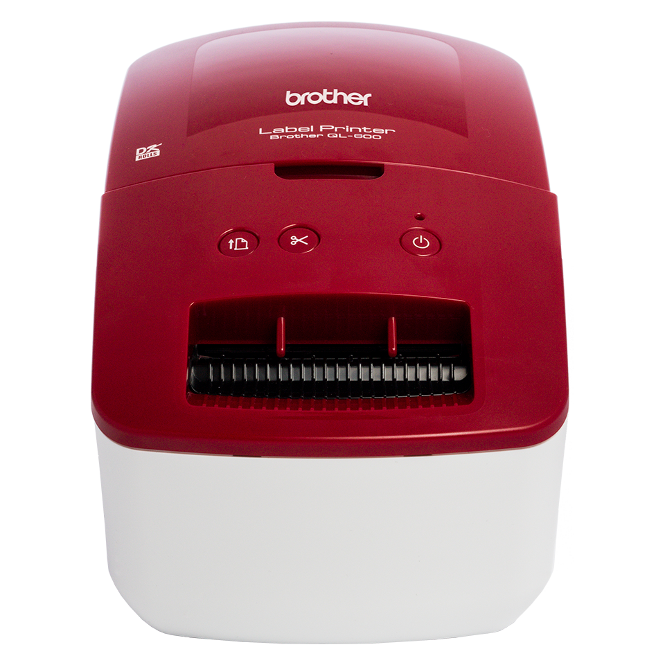 Brother QL-600R address label printer - main