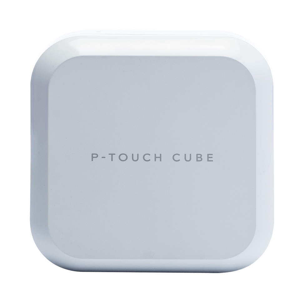 P-touch CUBE Plus (weißes Modell)