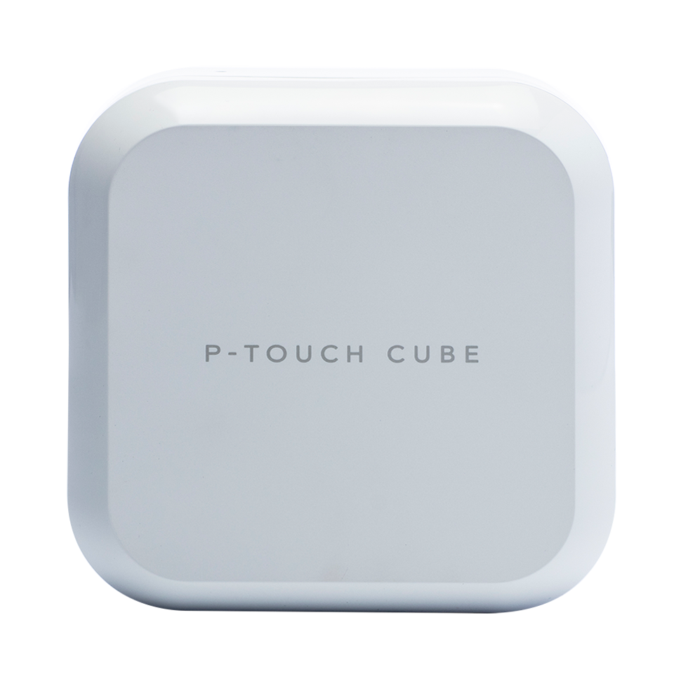 P-touch CUBE Plus (weißes Modell) PT-P710BT