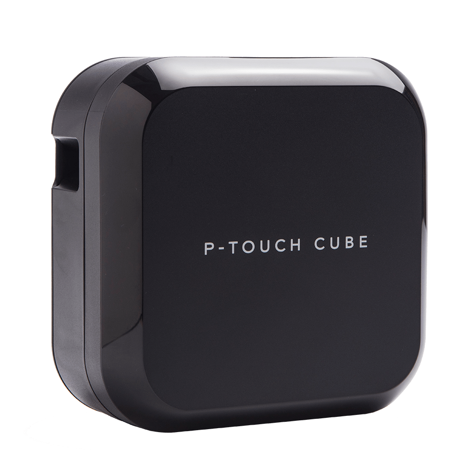 P-touch CUBE Plus (schwarzes Modell)  2