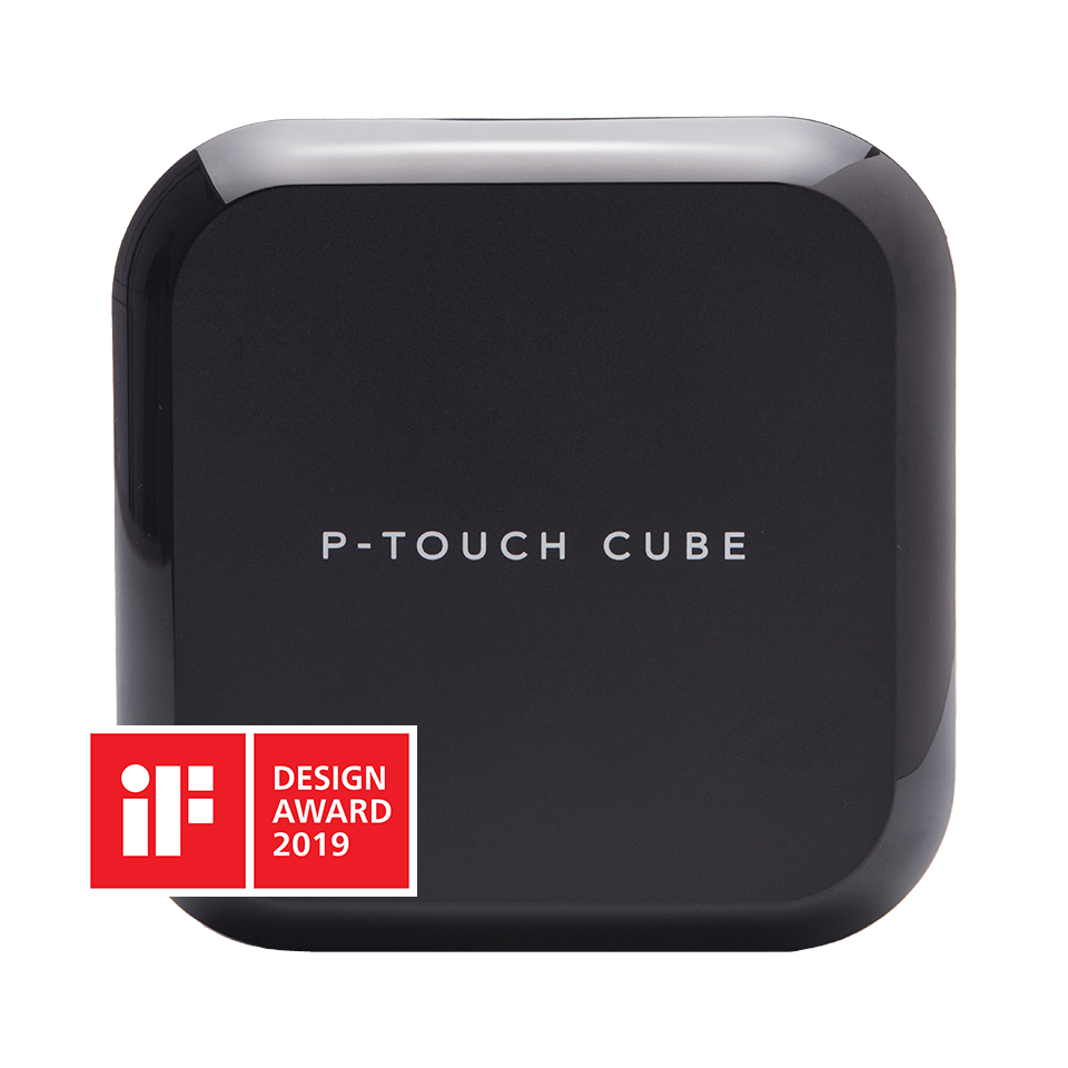 P-touch CUBE Plus (schwarzes Modell)