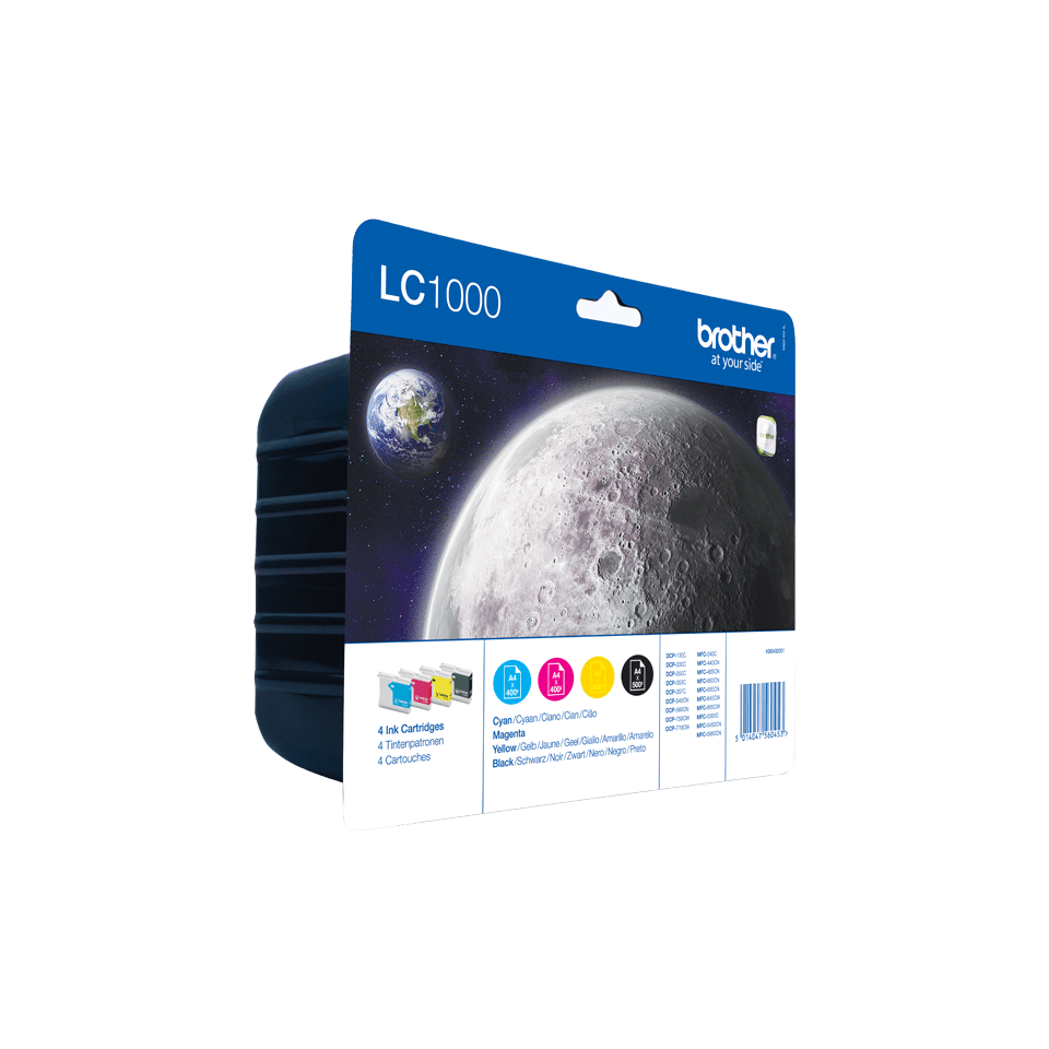Original Brother LC-1000 Value Pack 2