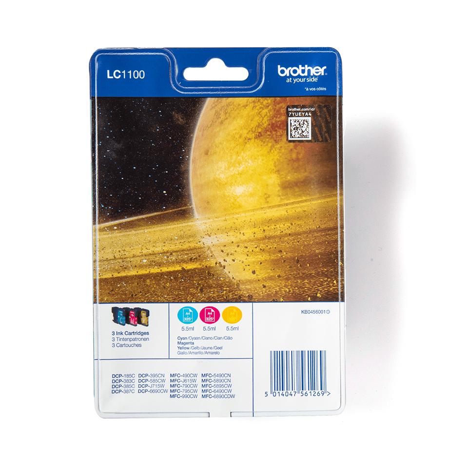 Original Brother LC-1100 Rainbow Pack