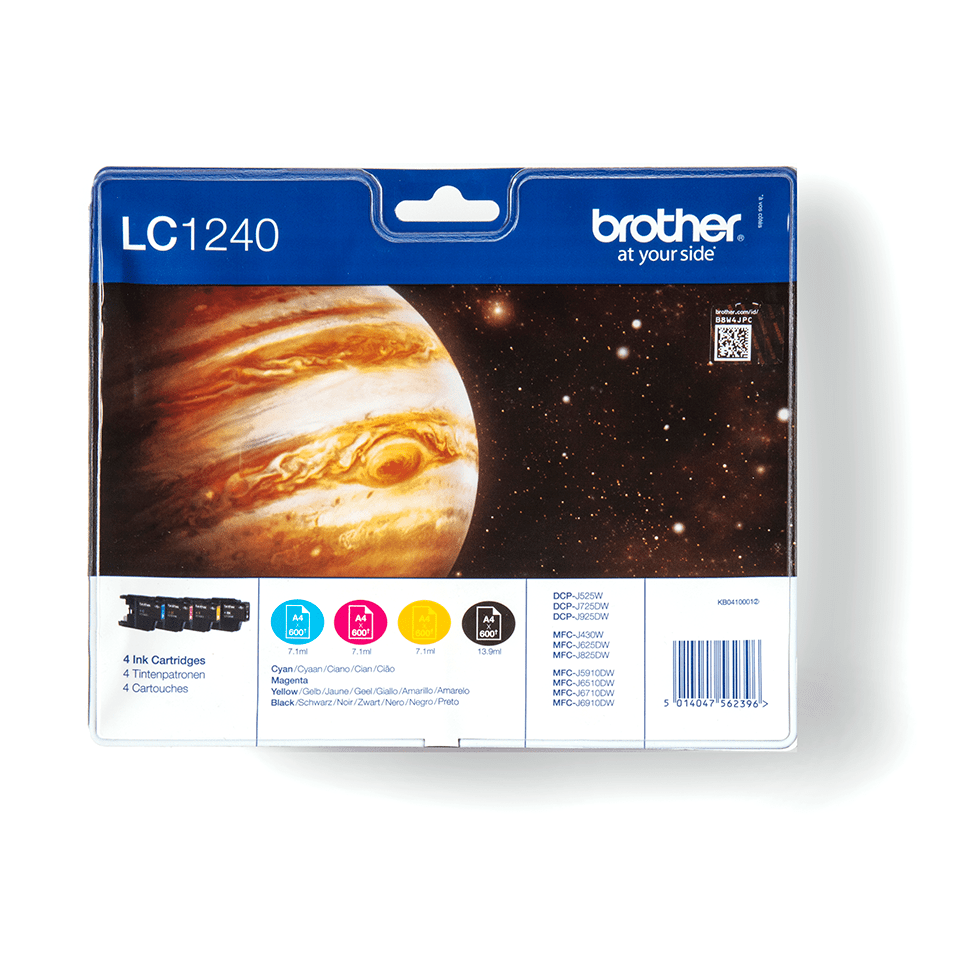 Original Brother LC-1240 Value Pack
