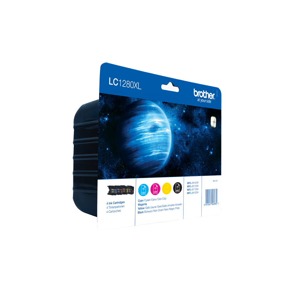 Original Brother LC-1280XL Value Pack 2
