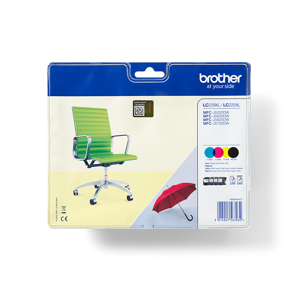 Original Brother LC-229XL Value Pack