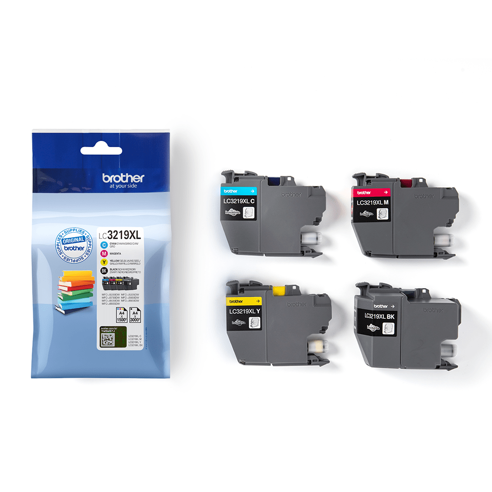 Original Brother LC-3219XL Value Pack 3