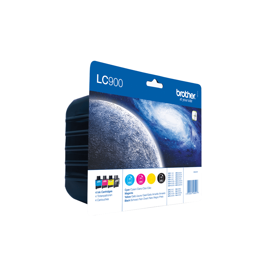Original Brother LC-900 Value Pack 2