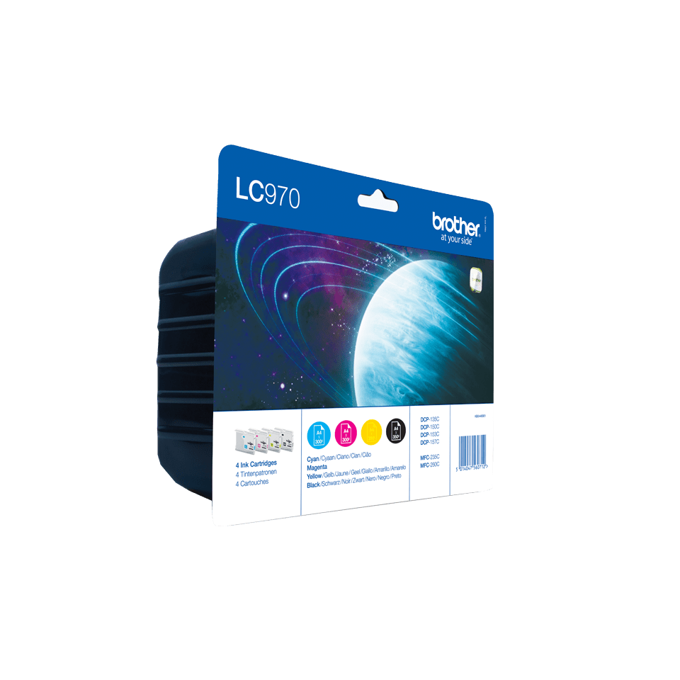 Original Brother LC-970 Value Pack 2