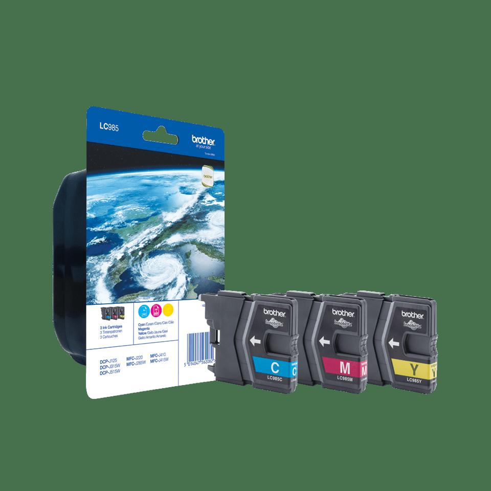 Original Brother LC-985 Rainbow Pack