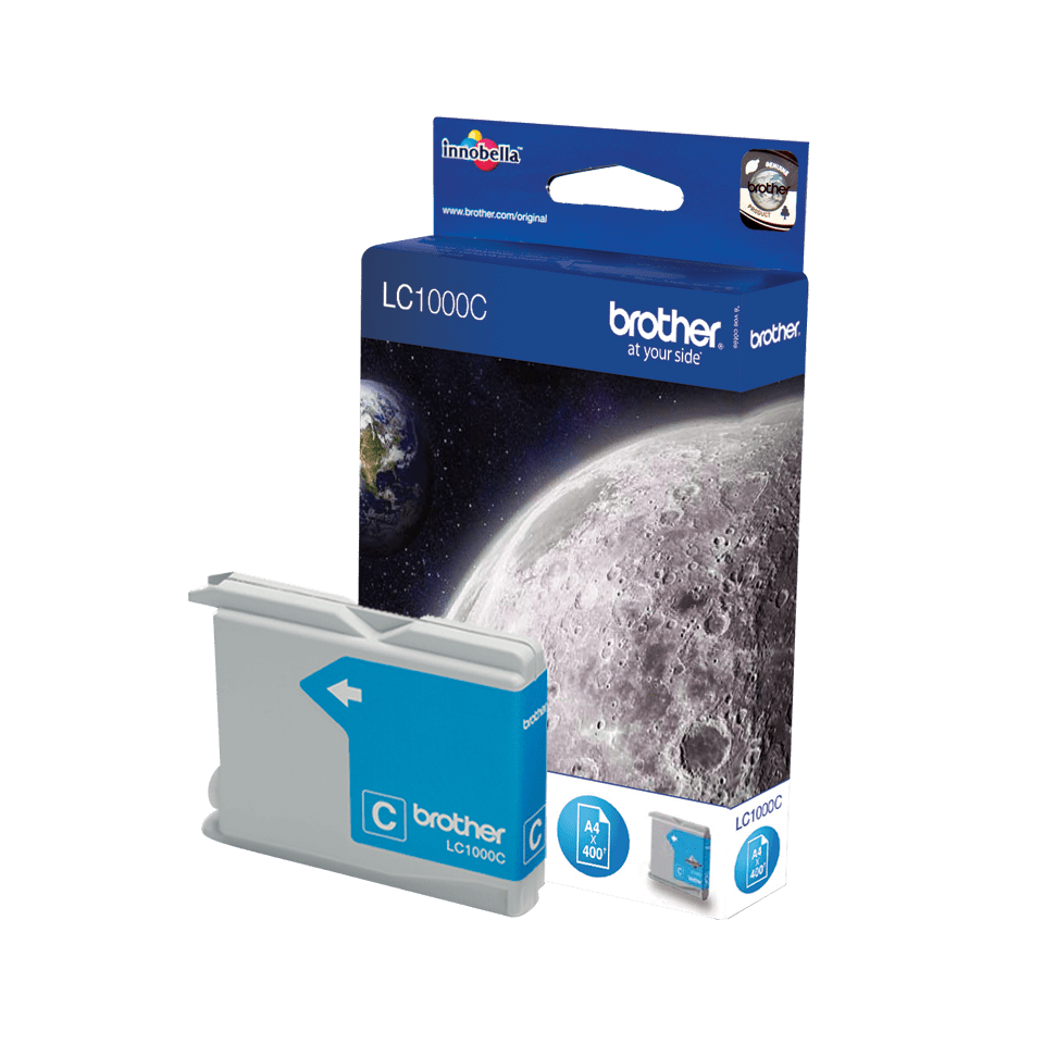 Brother LC-1000C Tintenpatrone – Cyan