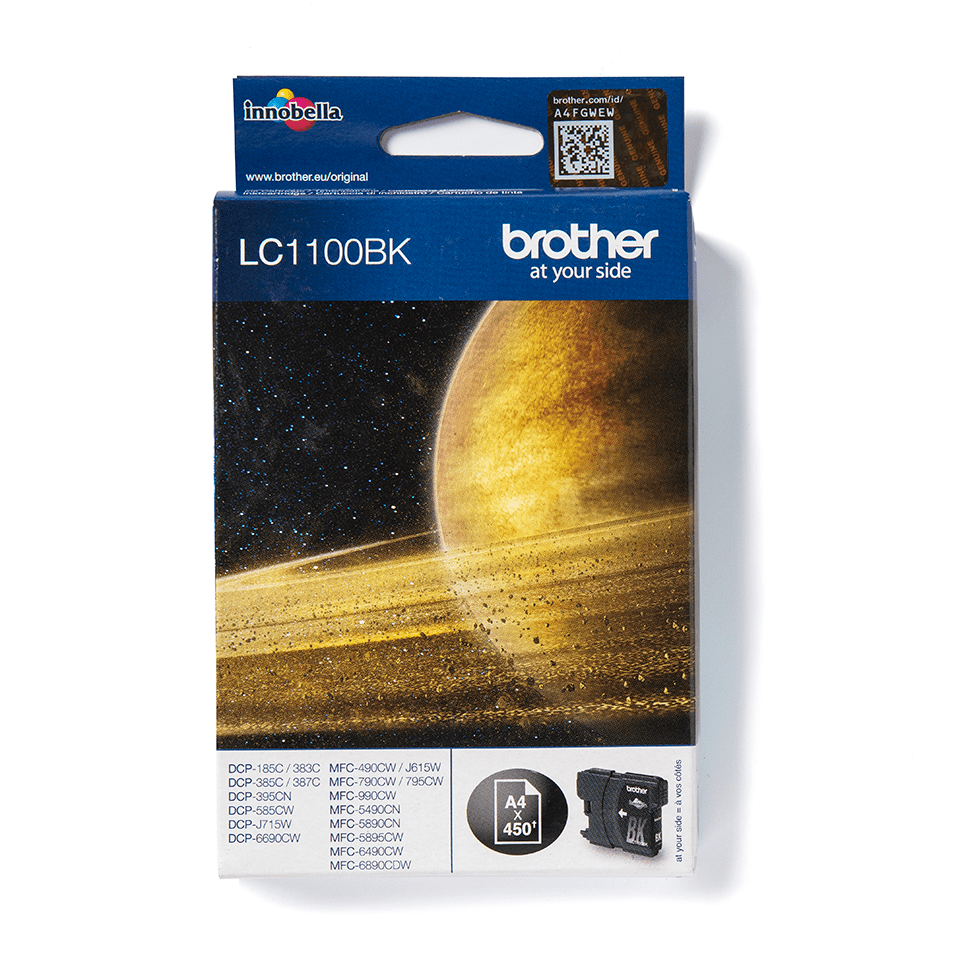 Brother LC-1100BK Tintenpatrone – Schwarz
