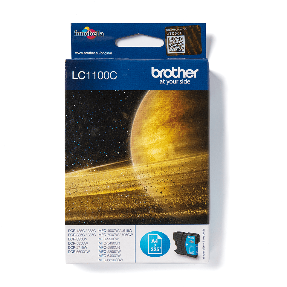 Brother LC-1100C Tintenpatrone – Cyan