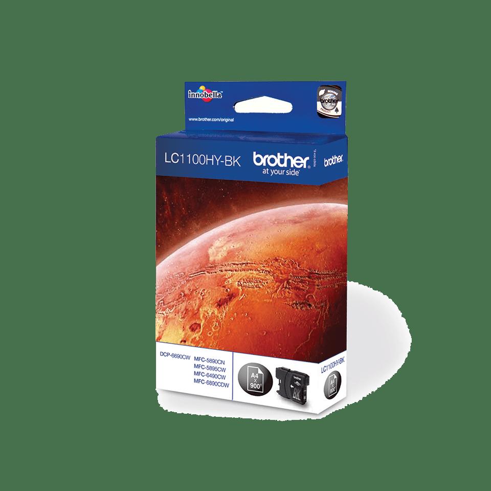 Brother LC-1100HY-BK Tintenpatrone – Schwarz 2