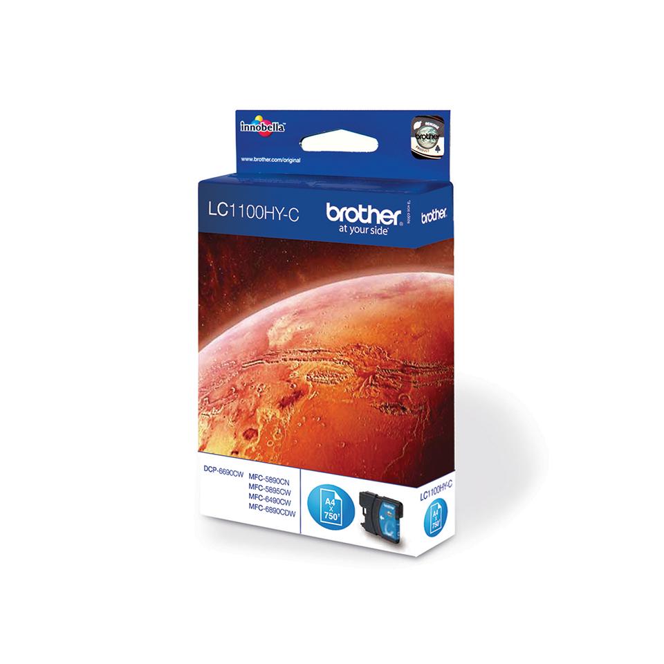 Brother LC-1100HY-C Tintenpatrone – Cyan 2