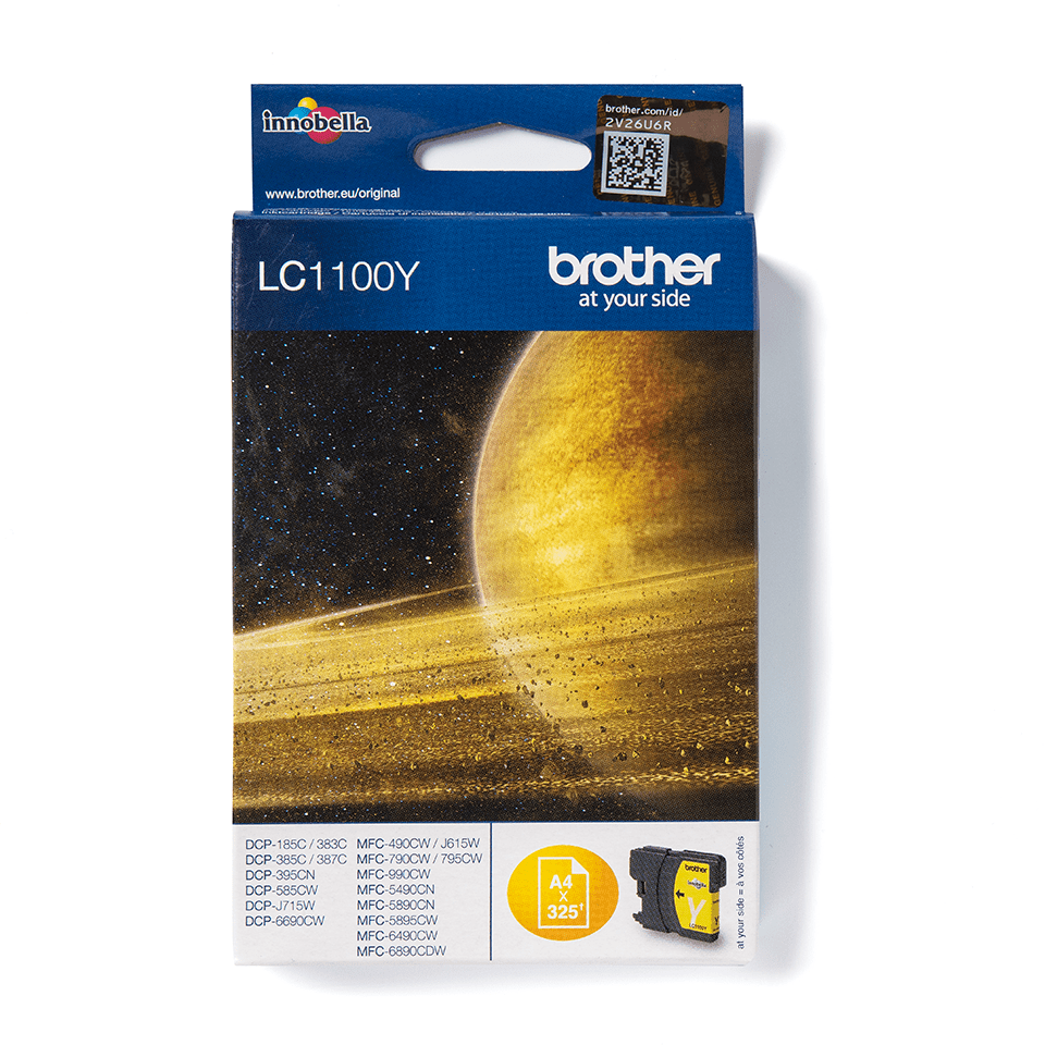 Brother LC-1100Y Tintenpatrone – Gelb 0
