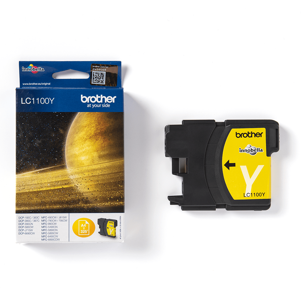 Brother LC-1100Y Tintenpatrone – Gelb 3