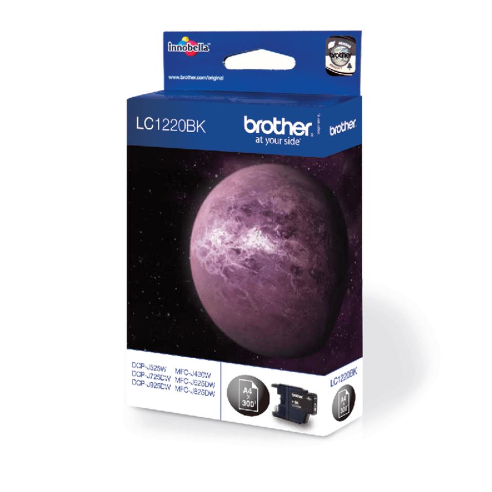 Brother LC-1220BK Tintenpatrone – Schwarz 2