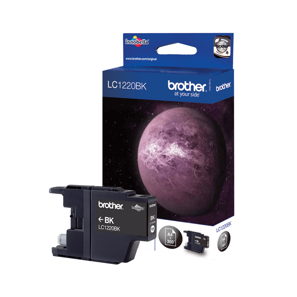 Brother LC-1220BK Tintenpatrone – Schwarz