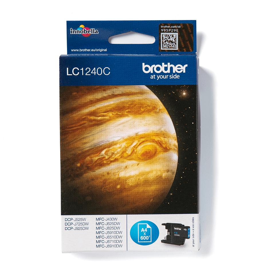 Brother LC-1240C Tintenpatrone – Cyan 0