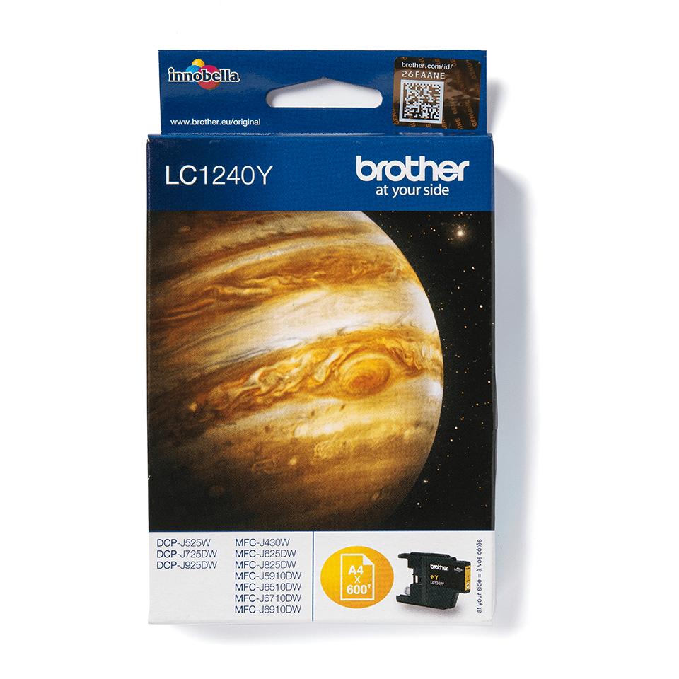Brother LC-1240Y Tintenpatrone – Gelb 2