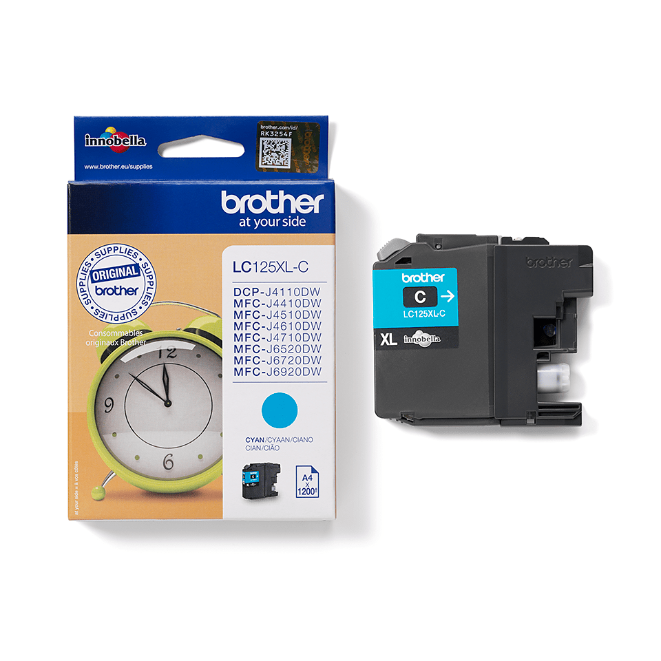 Brother LC-125XL-C Tintenpatrone – Cyan 2