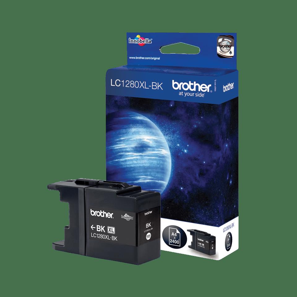 Brother LC-1280XL-BK Tintenpatrone – Schwarz