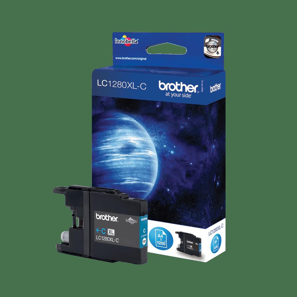 Brother LC-1280XL-C Tintenpatrone – Cyan