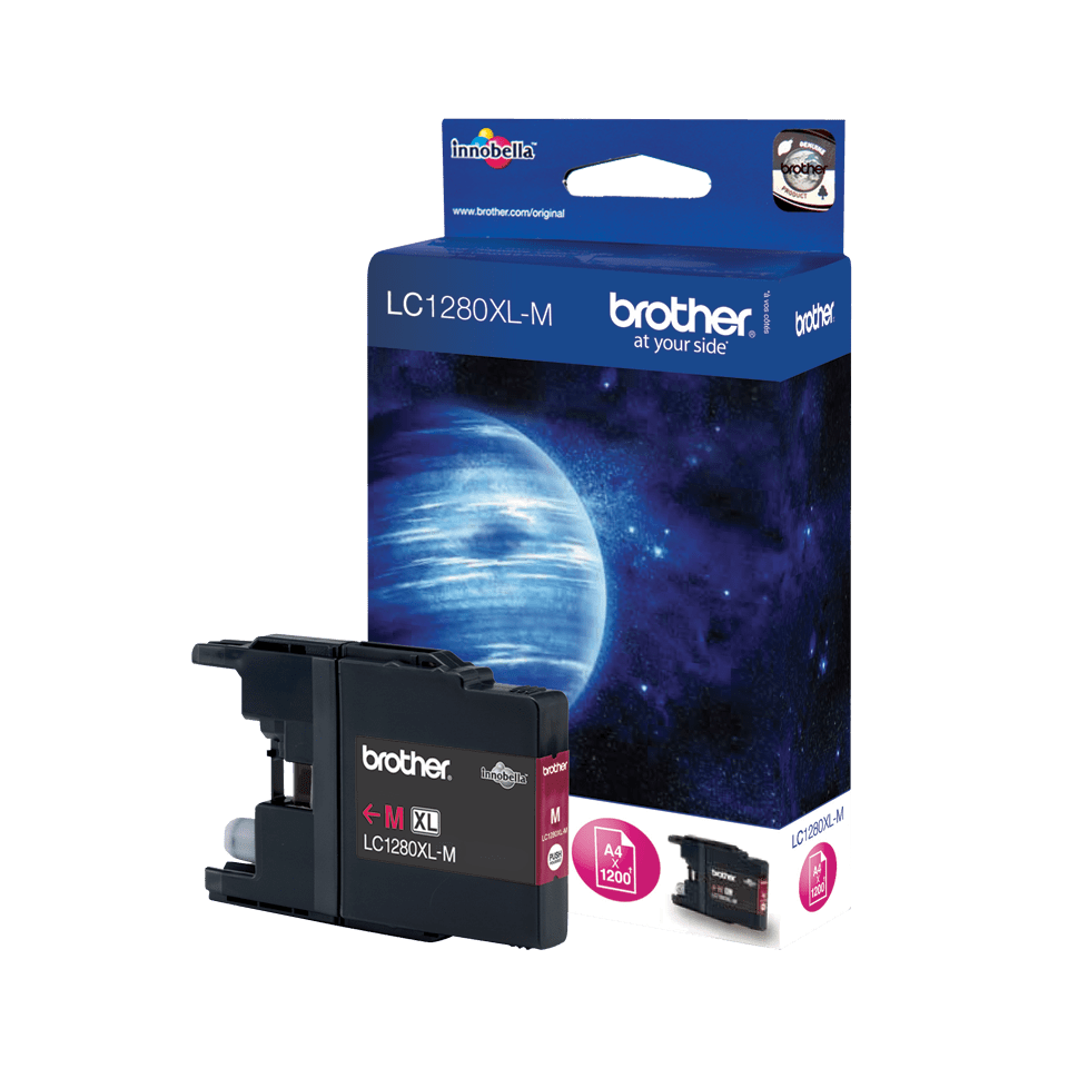 Brother LC-1280XL-M Tintenpatrone – Magenta